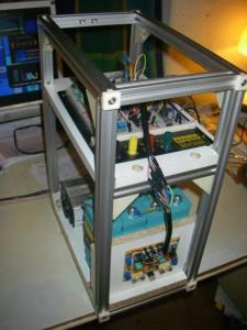 Neuer SolarBox-Prototyp im UniProKit-Gehäuse