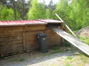 Kompostierungs-Anlage