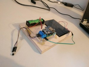 Solar IOT-Sensor